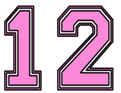 12-number-varsity