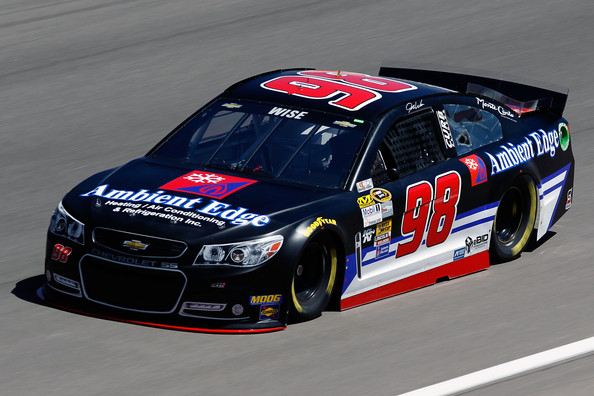Josh takes to the track in hopes to earn a starting spot at Las Vegas
