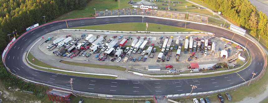 East-Carolina-Motor-Speedway Birds Eye