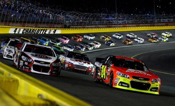NASCAR_Charlotte Turn 4