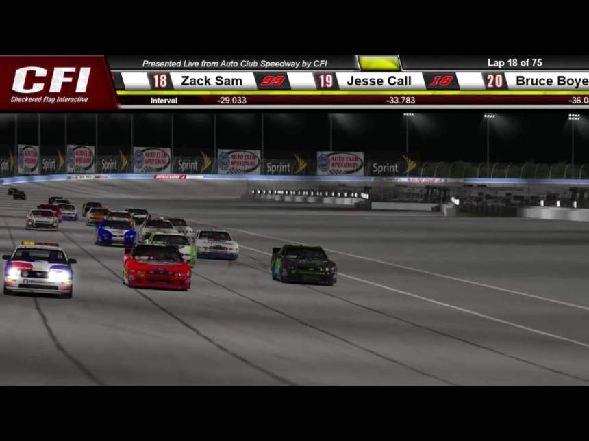 Race #2 California 4