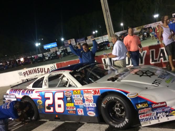 Edwards Jr Win Race 2