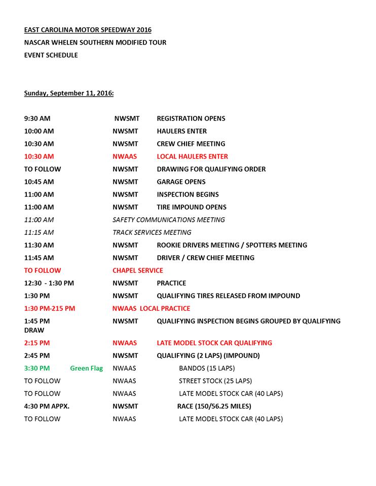 ecms-nwsmt-schedule