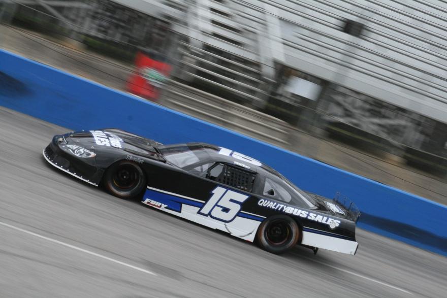 Christian Eckes during practice Friday at Southern National Motorsports Park. (Justin Kern/TheWeeklyRacer.com)